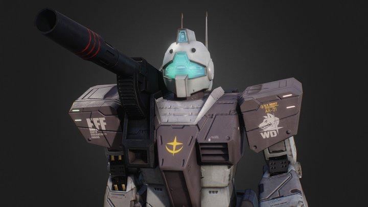 RGC-80 GM Cannon 3D Model