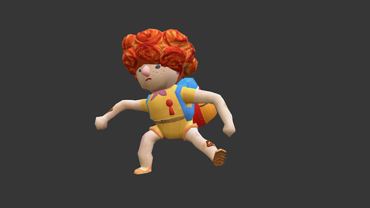 [ Luncheon the grass ] Scout 3D Model