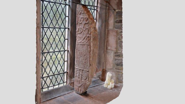 Tunwini cross - Great Urswick, Cumbria 3D Model