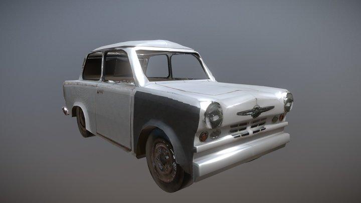 """A """"trabbi"""", east-german car 3D Model"""