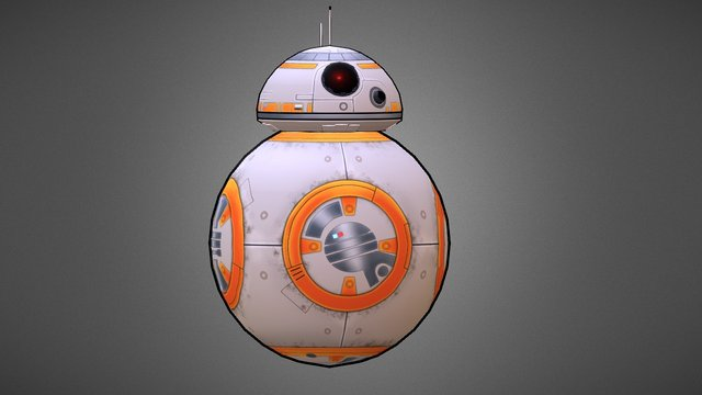 BB-8 Animation 3D Model