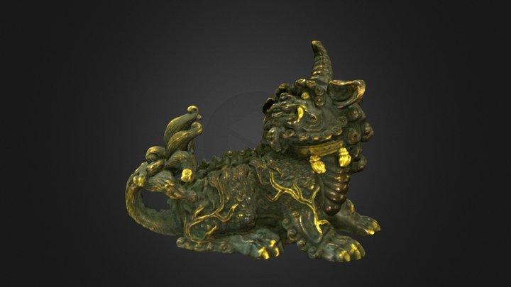 Mythical Beast - Artec 3D Scan 3D Model