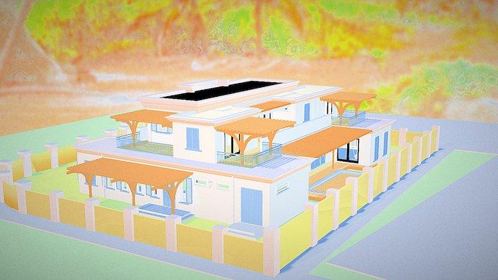 2015 67 Mansion 3D Model