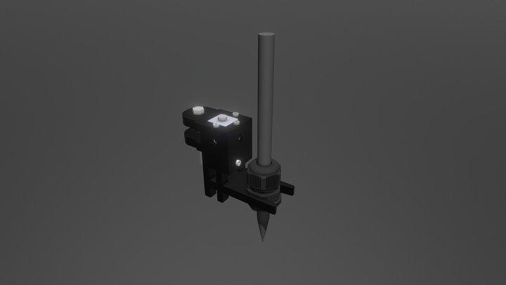 Pen Holder Solenoid 3D Model