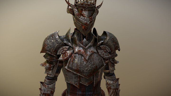 The Knight 3D Model