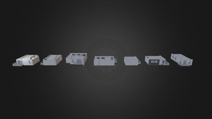 Mieszkania  3D Model