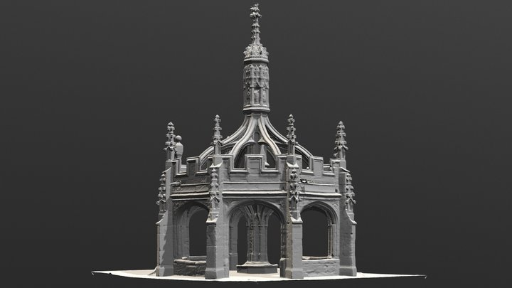Malmesbury-Cross-untxt 3D Model