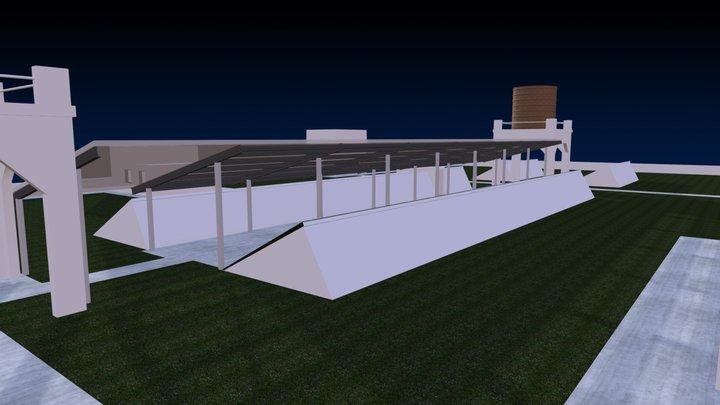 Brooklyn Grange 3D Model