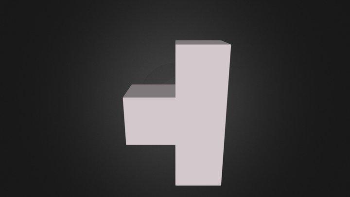White cube 3D Model