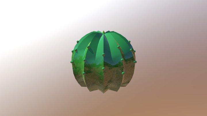 サボテンカバー2 3D Model