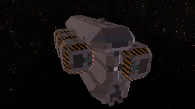 I-Beam Transport Mk1 (wip2) 3D Model