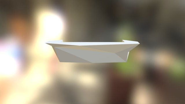 BARRA CON MUEBLE 3D Model