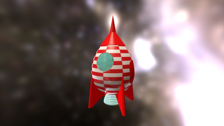Easter Space 3D Model