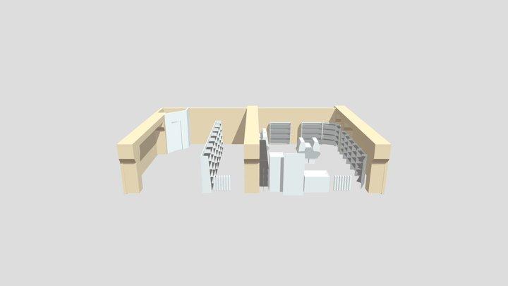 Plan1 Blender 2.79 Cycles 3D Model