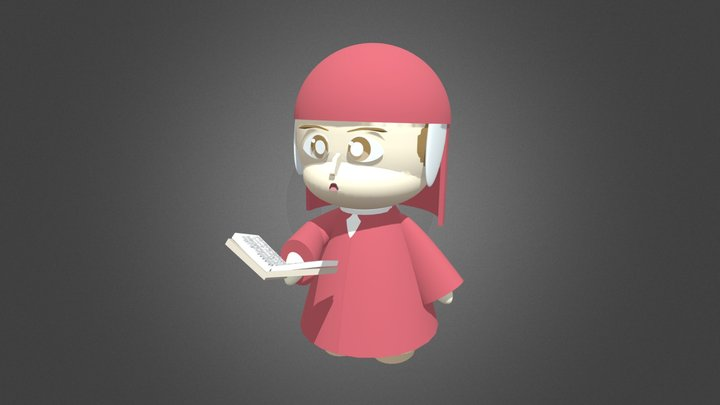 Dante Alighieri 3D Model