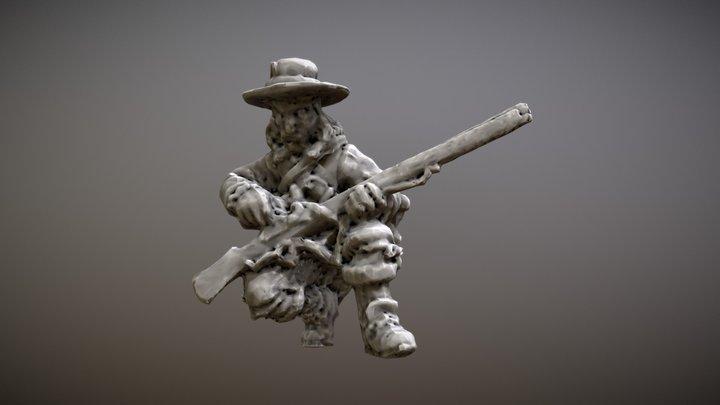 Dragoon (30 Years War) 3D Model