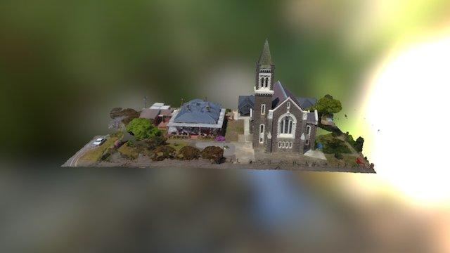 St. Mary's Catholic Church, Ararat 3D Model