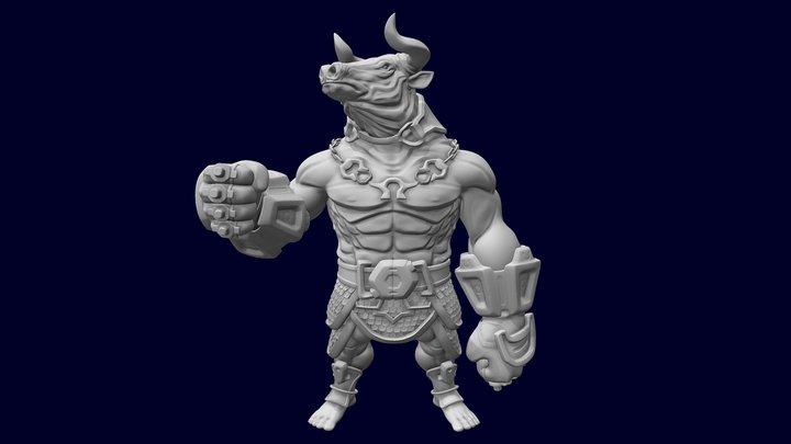 The Fighter 3D Model