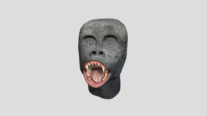 Gorillakopf 3D Model