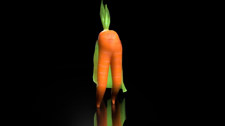 The carrot fashion show 3D Model