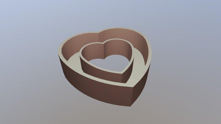 Heart Box 1 3D Model