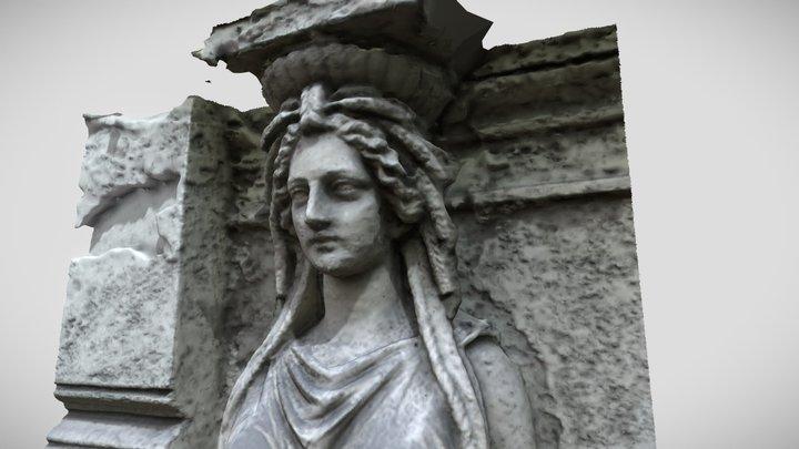 Facade Sculpture 3D Model