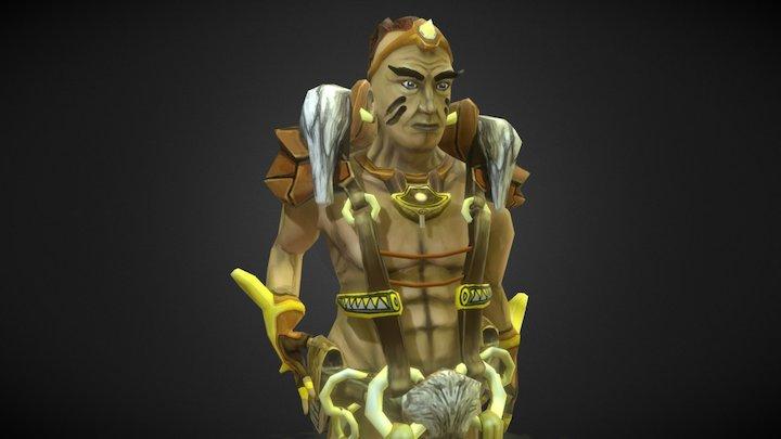 Chief 3D Model