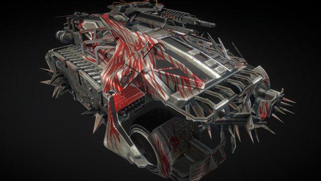 Scorpio Battle Tank 3D Model