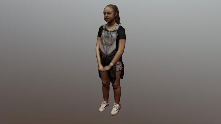 Caitlan 3D Model