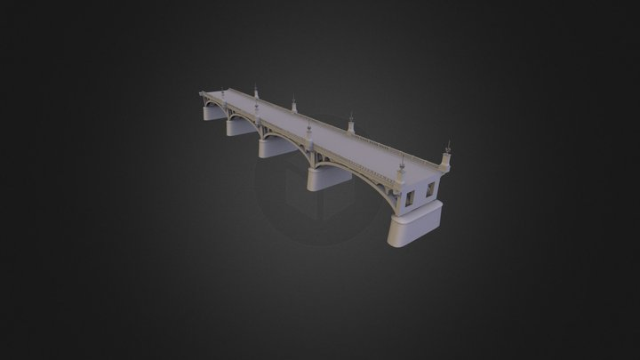 Bridge_modul 3D Model