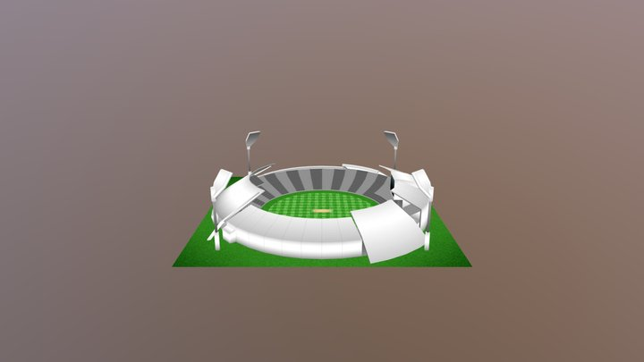 Stadium Lv12 3D Model