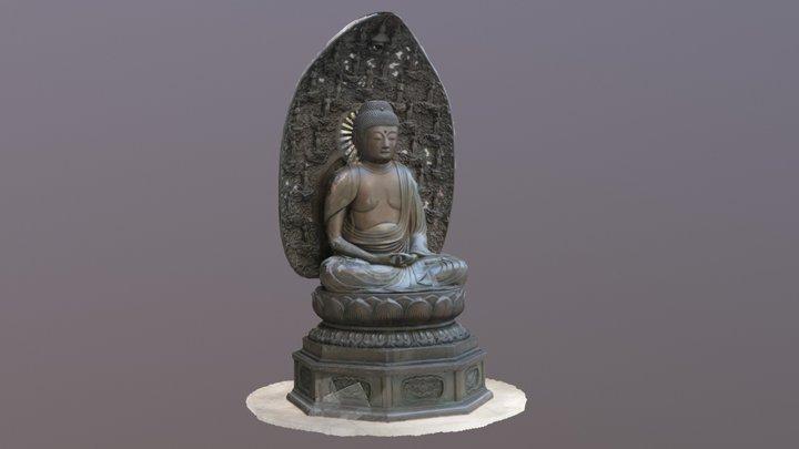 Rosehaugh Buddha 3D Model