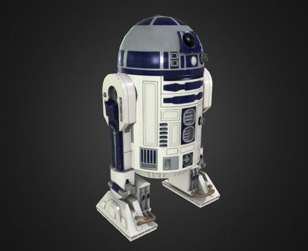 R2-D2 Star Wars Archives version 3D Model