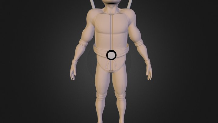 Leonardo Teenage Mutant Ninja Turtle 3D Model