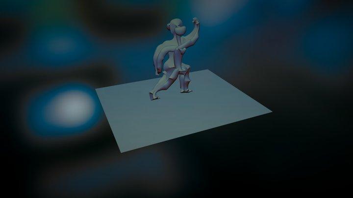 BAILARINES 3D Model