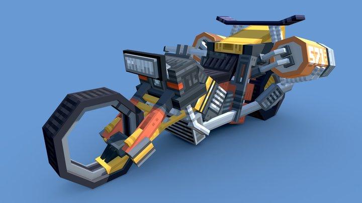 Blaze 571 Jet Bike 3D Model