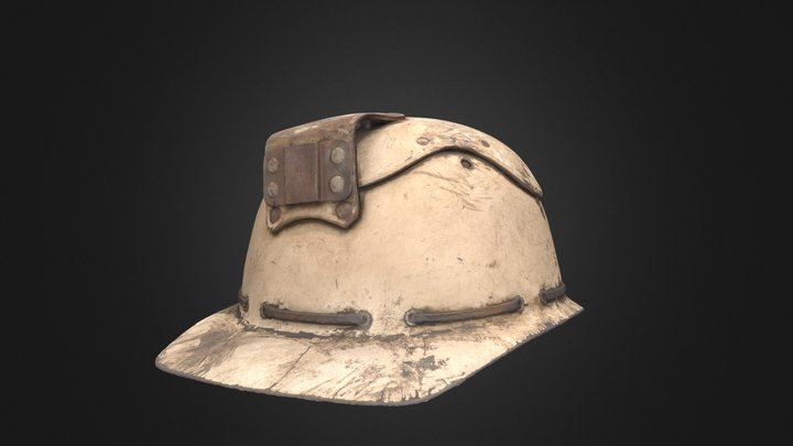 Helmet worn by Donegal Tunnel Tigers 3D Model