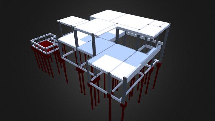 Sobrado - 214,37 m² 3D Model
