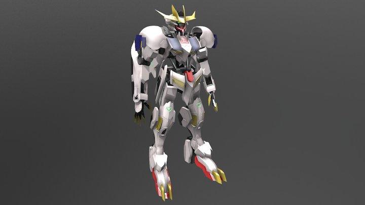 ASW-G-08 GUNDAM Barbatos Lupus Rex 3D Model