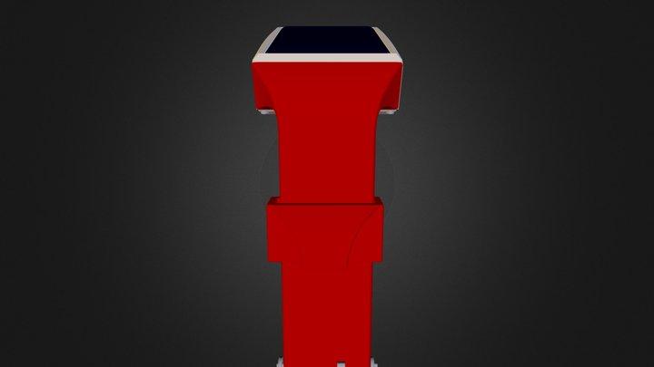 booster_pink2 3D Model