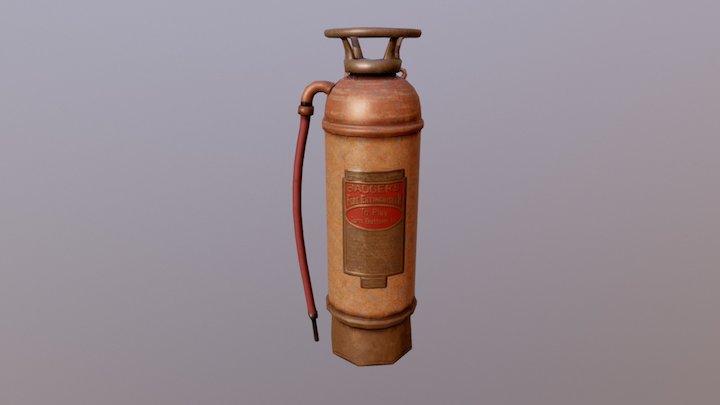 Extinguisher Feugere 3D Model