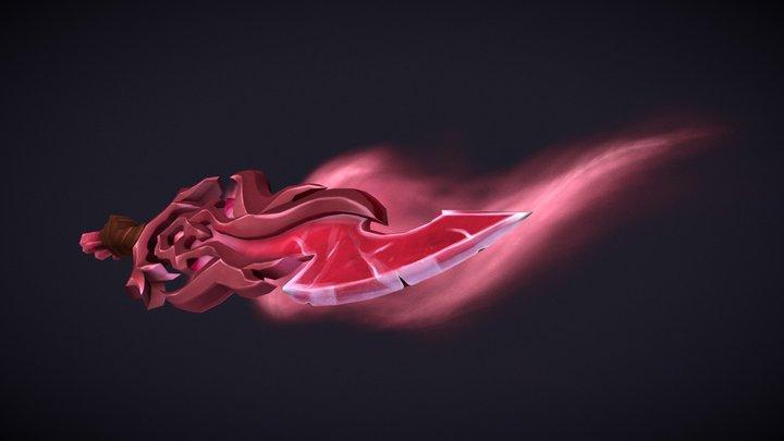 Heart's Sacrifice - Weaponcraft 3D Model