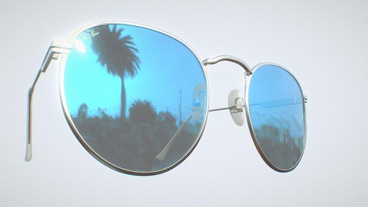 Vintage Ray-Ban® Sunglasses 3D Model