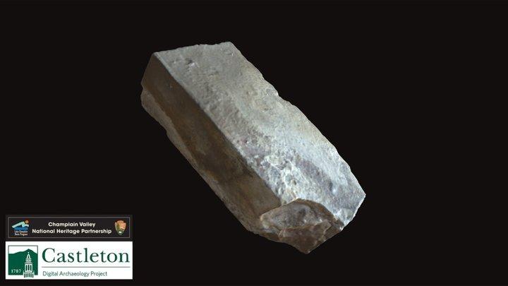 Heat-affected Brick (CUDAP_6_23) 3D Model