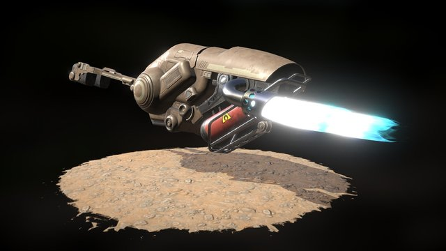 Project Steelworks: Hovercraft 3D Model