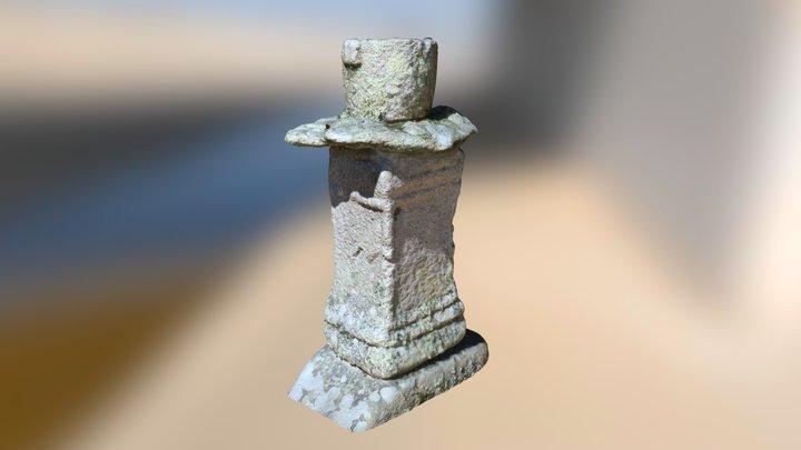 Roman altar, Tresco, Isles of Scilly 3D Model