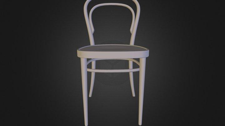 Free 3d model: Thonet Chair-214-silla 3ds 3D Model