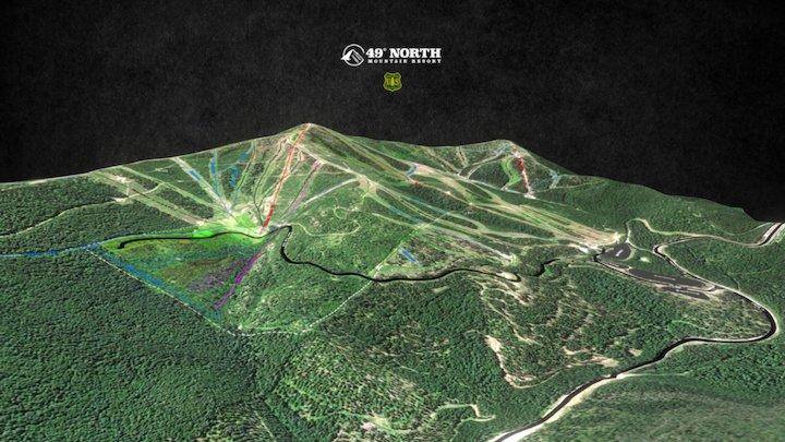 49 North Mountain Resort 3D Model