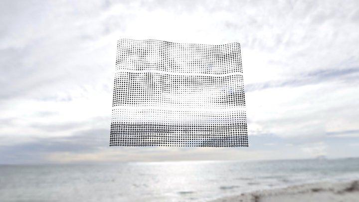 Grey ocean (Whitfords Beach) 3D Model