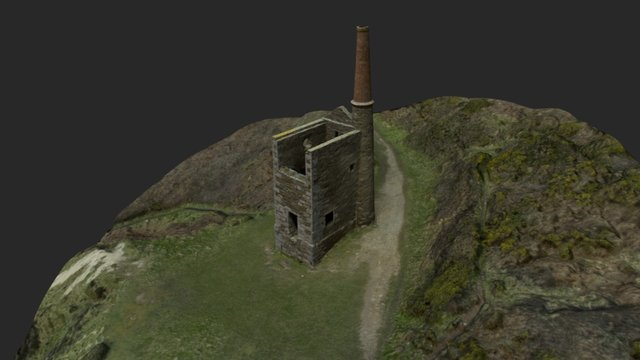 Wheal Prosper Engine House 3D Model